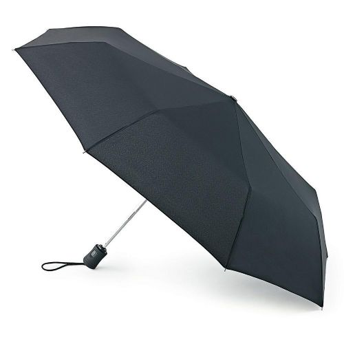 Black Fulton Automatic Open and Close 3 Umbrella